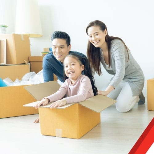 UniGroup ASIA providing a variety of moving services.